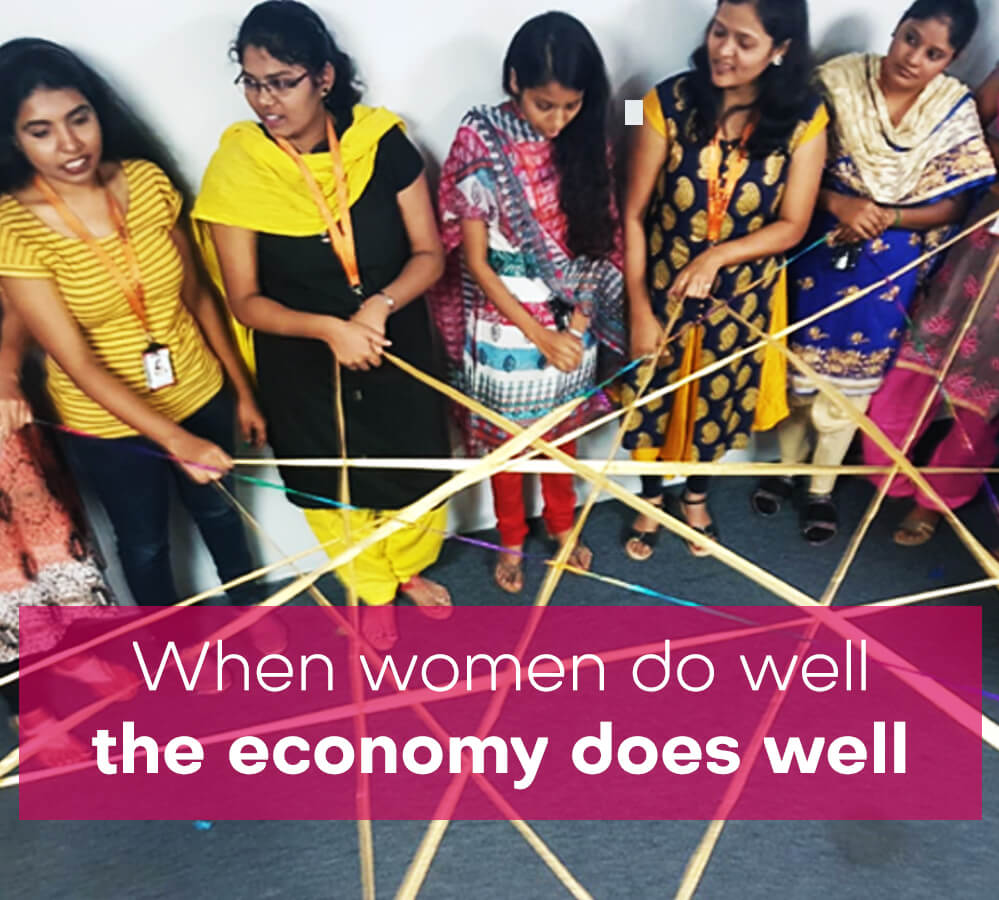 When women do well, the economy does well